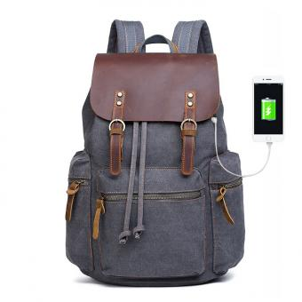 large capacity multi pocket backpack