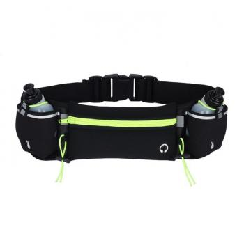 Fitness Water Bottle Fanny Packs Lightweight Jogging Walking Pouch Bag Marathon Customer Logo Waist Bag Adjustable Strap - ORSTAR