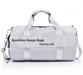 Latest Fashion Round Travel Bag Wet Pocket Gym Bag Oxford Shoes Compartment Sport Bag - ORSTAR